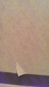 壁紙剥がれ補修前