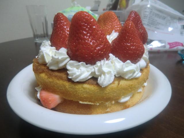 ケーキ完成図
