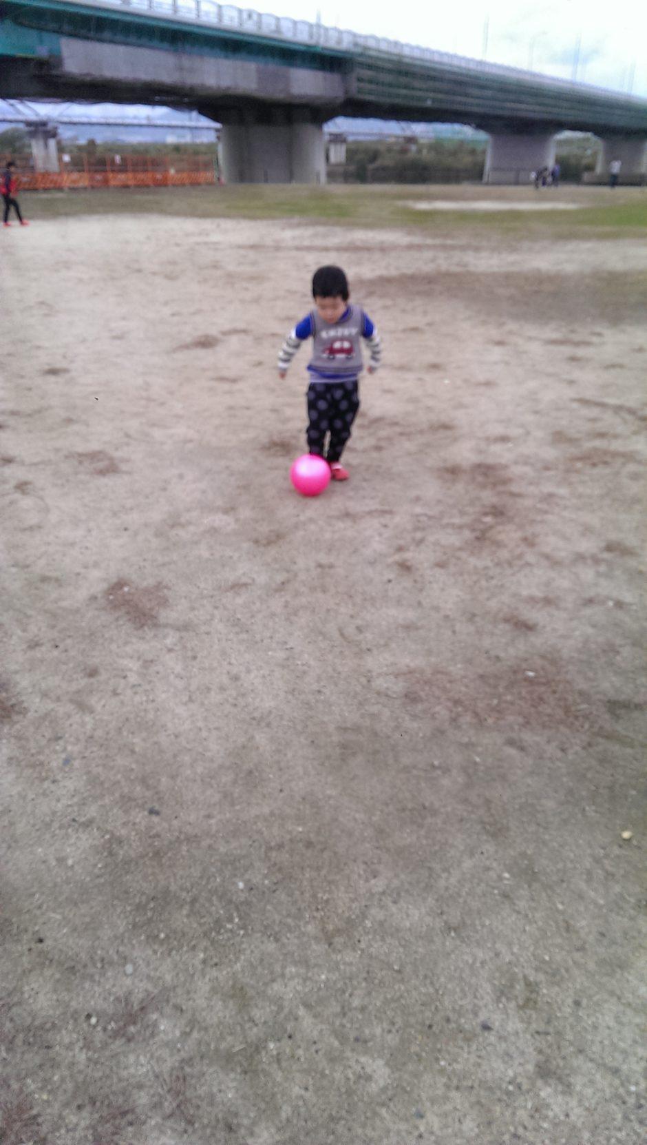 ボール遊び3歳