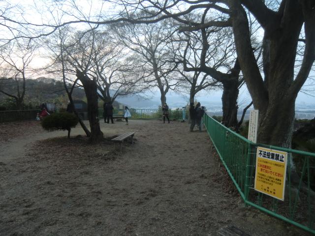 石清水八幡宮の展望台