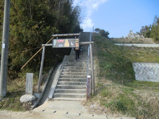 長林寺入り口