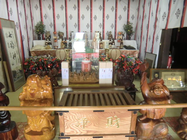 長林寺の中