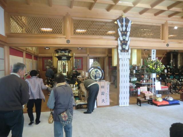 智禅寺の中の様子