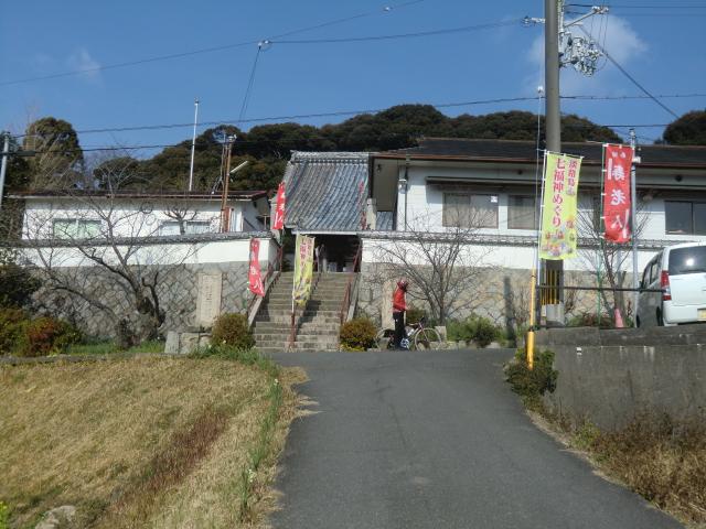 宝生寺の入り口