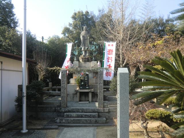 寿老人の石像