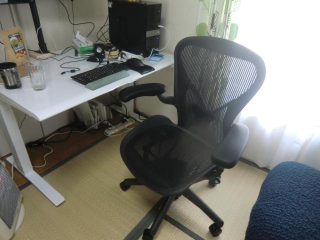 自宅の作業スペース