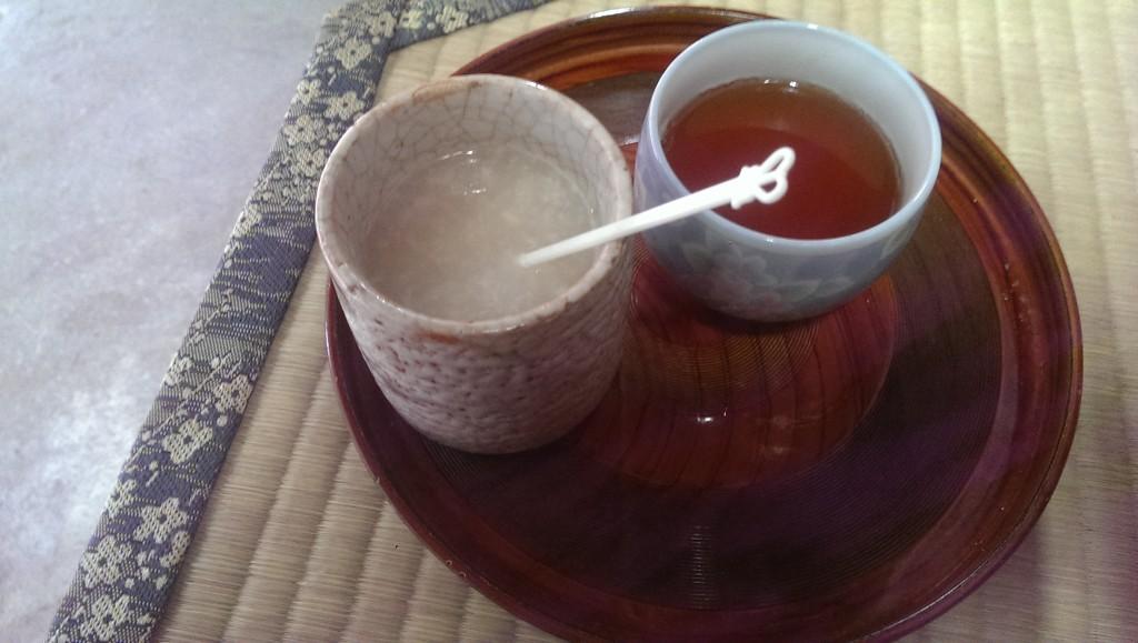伏見稲荷の甘酒