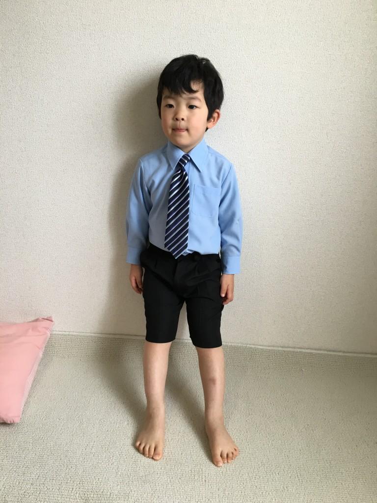 入園式の子供服