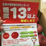 糖度保証のりんご