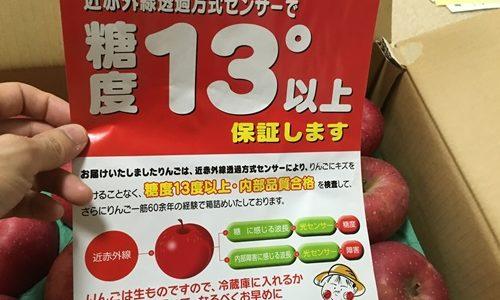 青森のりんごを通販してみた【アップルショップ大中】