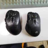 2つのゲーミングマウスG700s