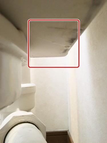 トイレタンクの水漏れ