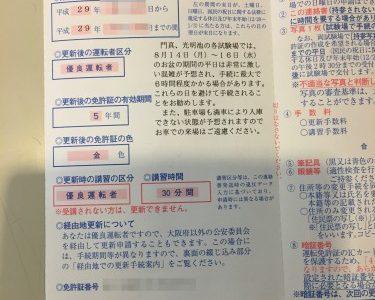 免許の更新【平日】は混むのか?