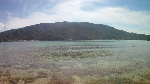 無人ビーチ【水島】に行ってきた。