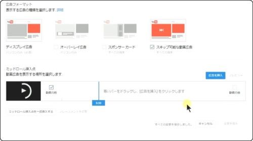 You Tube 広告の種類