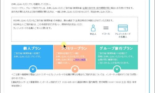 海外旅行保険【たびとも】の申込は10分で完了(画像解説)