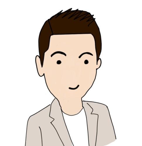 iPadで描いた自画像