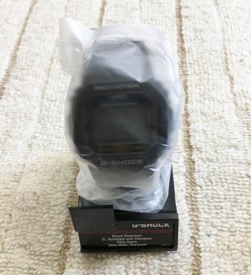 【DW-5600E-1V】 包装の様子