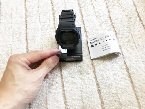 【DW-5600E-1V】レビュー