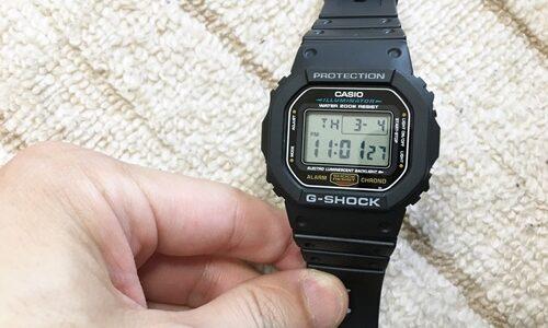 G-SHOCK メンズ【DW-5600E-1V】口コミ・レビュー