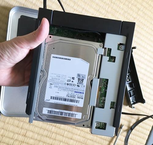 HDDの分解