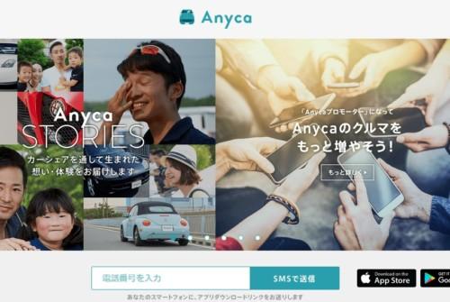 Anyca サイト