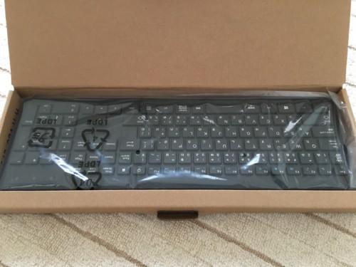 付属品のキーボード