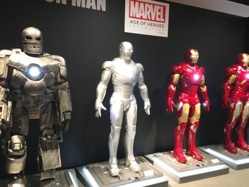 アイアンマンの展示物
