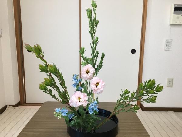 ブルースター生け花