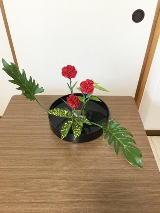 カーネーション 生け花