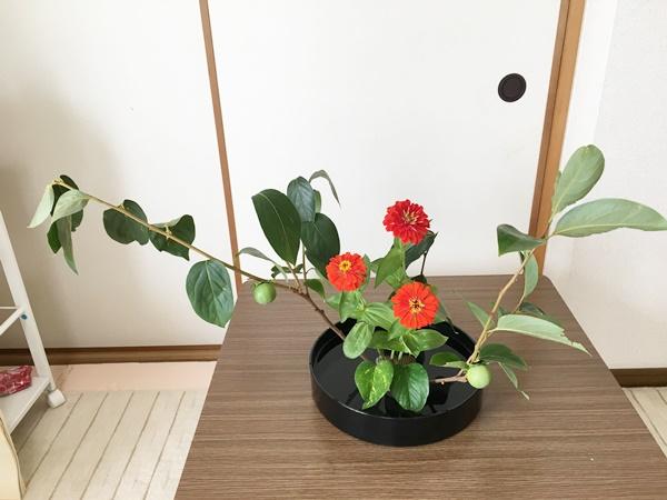 ikebana 柿