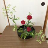 カーネーション生け花