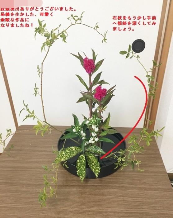 ikebana 添削