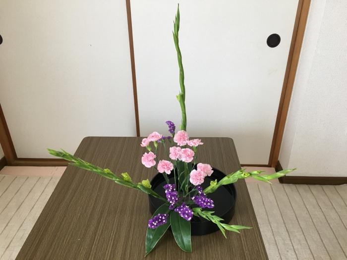 生け花 グラジオラス