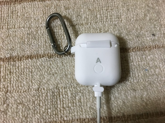 AirPodsの充電時