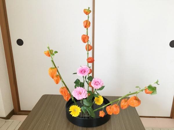 ほおずき 生け花