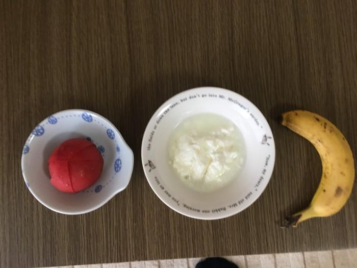 トマト バナナ ヨーグルト