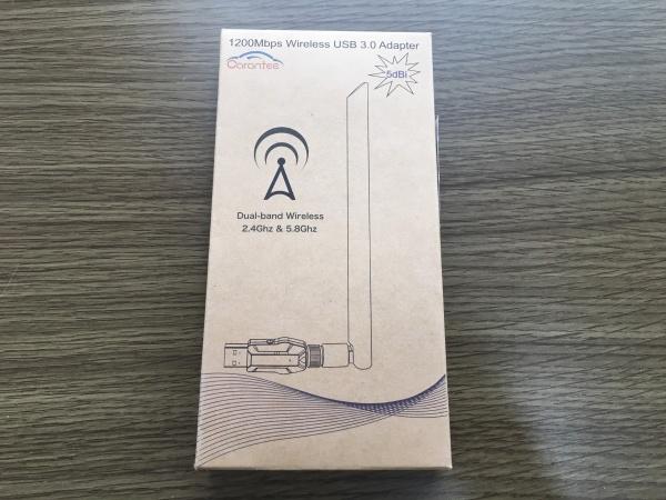 購入した無線LAN子機