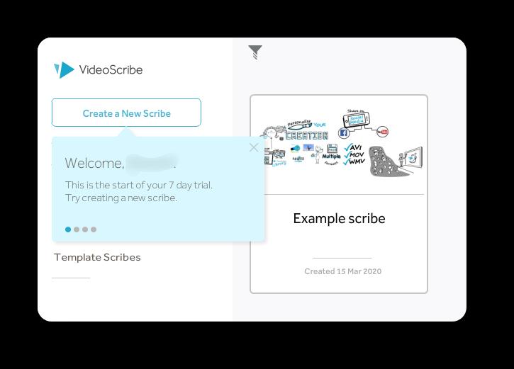 video scribe操作画面