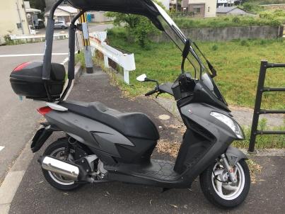 ヤフオクで買った中古バイク2