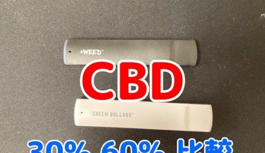 CBDリキッド(VAPE)30%・60%を比較レビュー「おすすめは?」