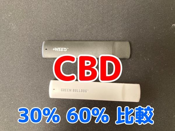 CBD 30% 60% 比較