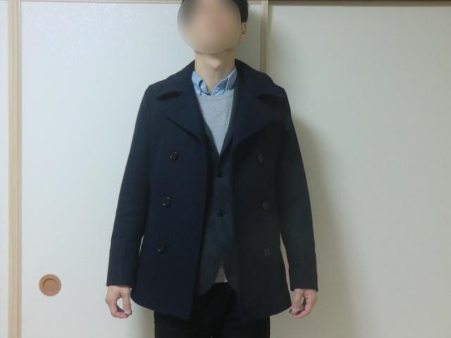 テーラードジャケットとのコーデコート
